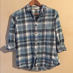 Woolrich FLANNEL button down Small